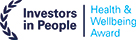 Investors in People Health & Wellbeing Award Logo